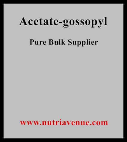 Acetate Gossopyl