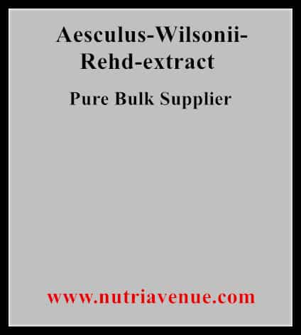 Aesculus Wilsonii Rehd Extract