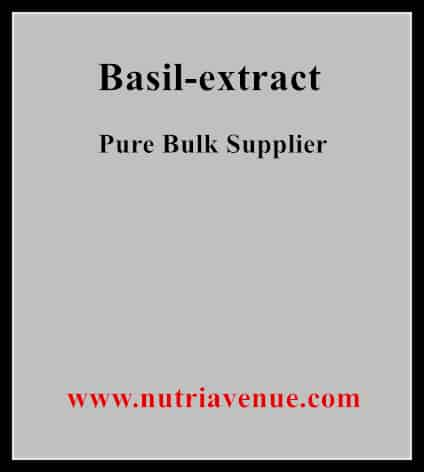 Basil Extract