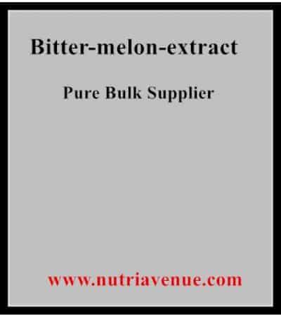 Bitter melon (Charantin)