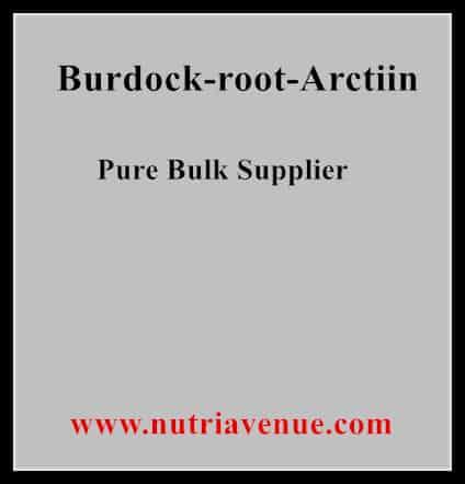 Burdock Root Arctiin