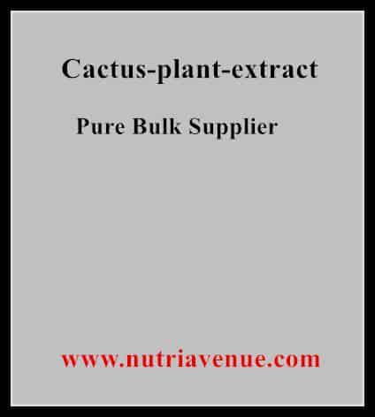 Cactus Plant Extract