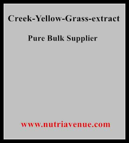 Creek Yellow Grass Extract