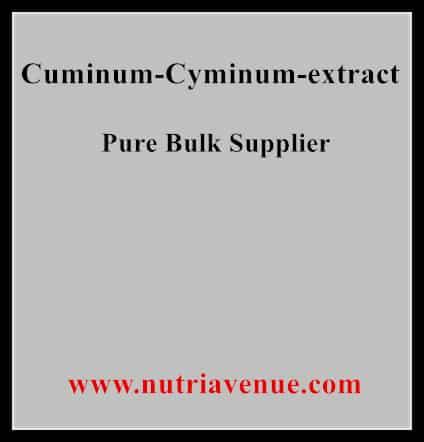 Cuminum Cyminum Extract