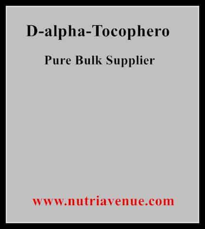 D-alpha Tocopherol