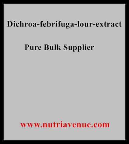 Dichroa Febrifuga Lour Extract