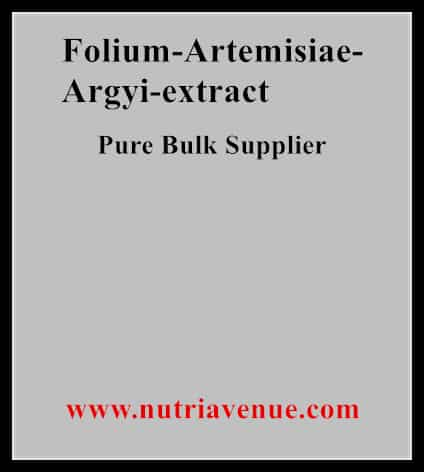 Folium Artemisiae Argyi Extract