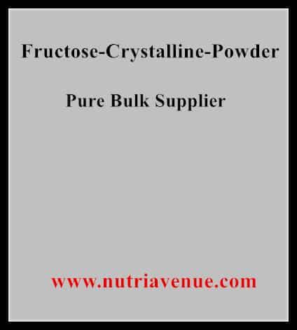 Fructose Crystalline Powder