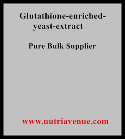 Glutathione Enriched Yeast Extract