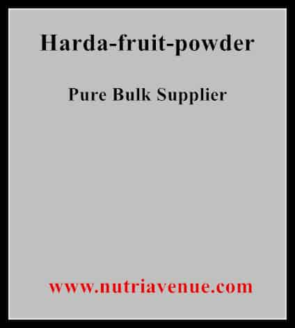 Harda Fruit Powder