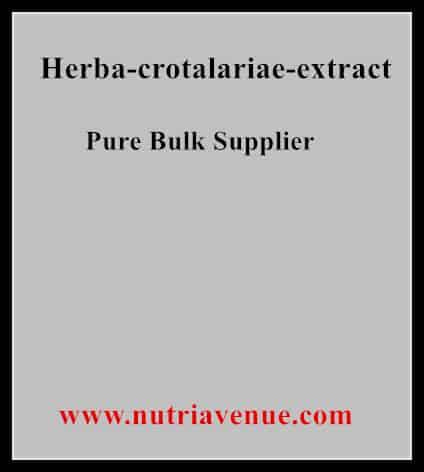 Herba Crotalariae Extract