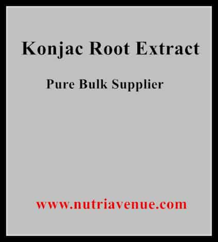 Konjac Root extract