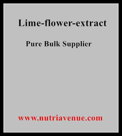 Lime Flower Extract