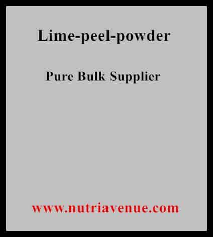 Lime Peel Powder