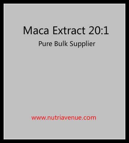 Maca Extract 20-1