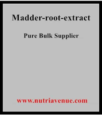 Madder Root Extract