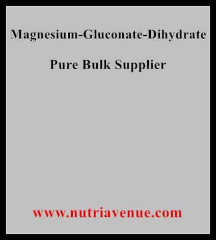 Magnesium Gluconate Dihydrate