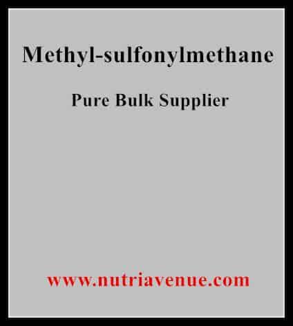 Methyl sulfonylmethane