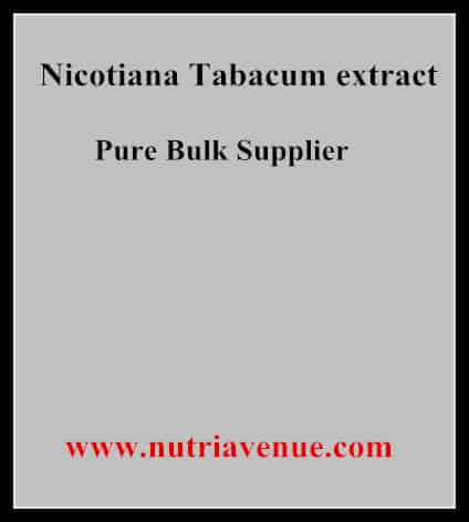 Nicotiana Tabacum Extract