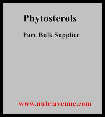 Manafacturer of Phytosterol, PQQ, Epicatechin Nutri Avenue
