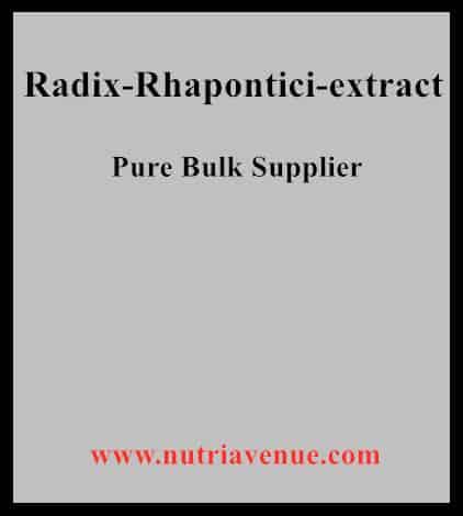 Radix Rhapontici Extract
