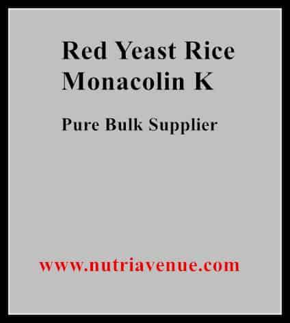Red Yeast Rice Monacolin-K
