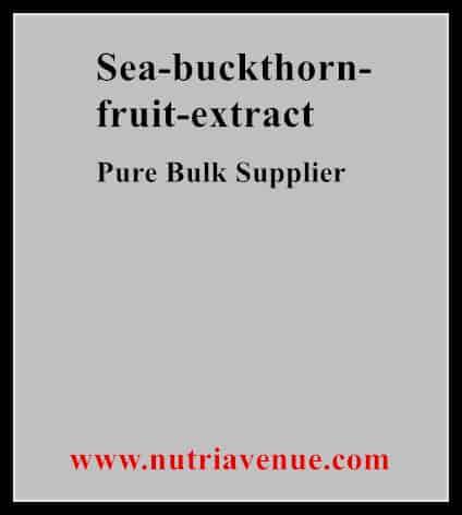 Sea Buckthorn Fruit Extract
