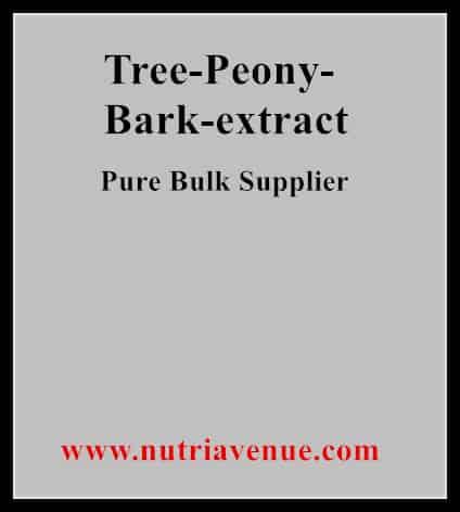 Tree Peony Bark Extract