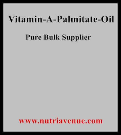 Vitamin A Palmitate Oil