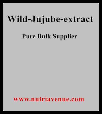 Wild Jujube Extract