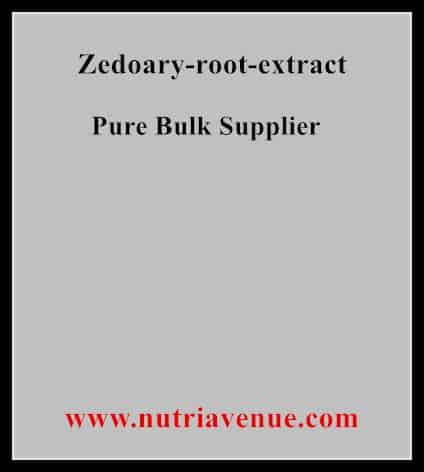 Zedoary Root Extract