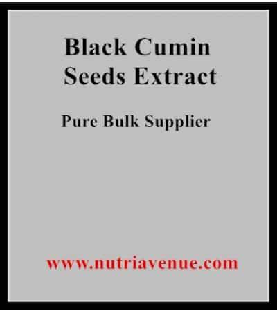 Black Cumin Seed Extract
