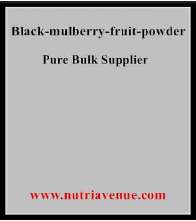 Black Mulberry Fruit Powder
