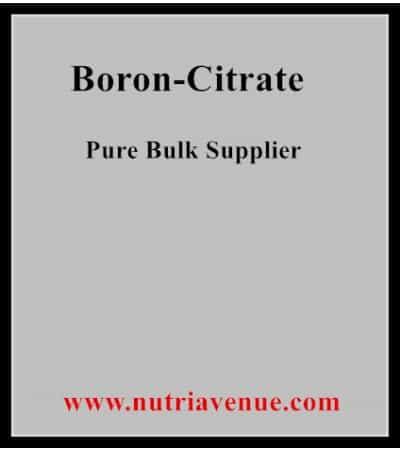 Boron Citrate