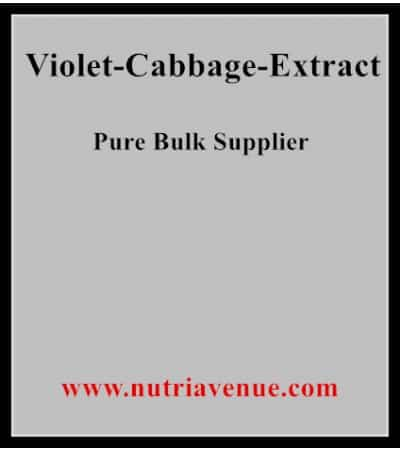 Violet cabbage extract