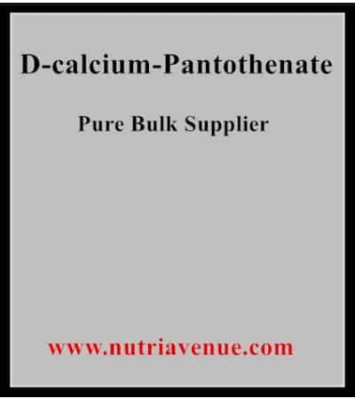 D-Calcium Panthotenate