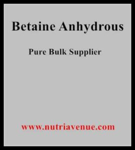 Betaine-Anhydrous supplier