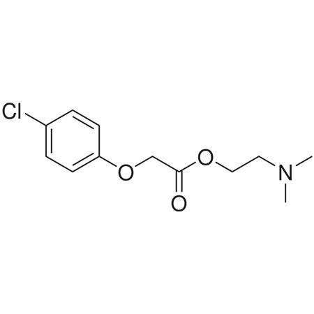 Centrophenoxine structural formula