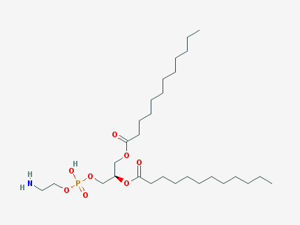 Phosphatidylethanolamine structural formula